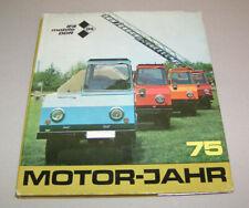DDR Motor - Jahr 1975 - Tatra 613, Mokick S 50, Geländegängige Gefechtsfahrzeuge