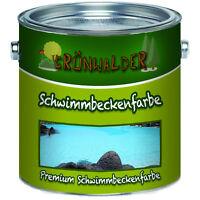 Grünwalder premium Poolfarbe Schwimmbeckenfarbe FARBAUSWAHL Beschichtung
