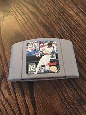 All Star Baseball 99 Nintendo 64 N64 Game Cart Good Tested NE5
