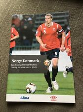 Euro 2012 Qualifying Match  Norway v Denmark  26.03.2011