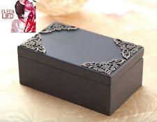 Black Vintage Rectangle Music Box : Elfen Lied - Lilium
