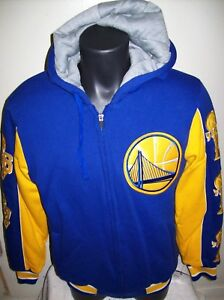 GOLDEN STATE WARRIORS 5 TIME NBA FINALS CHAMPIONSHIP Hooded Jacket S M L