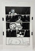 BATMAN ORIGINAL COMIC BOOK PAGE BY JEFF LEMIRE ALFRED DC COMICS SWEET TOOTH RARE