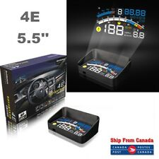 "4E 5.5"" Car OBD2 II EUOBD HUD Head Up Display Overspeed Warning System Projector"