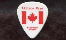 JUSTIN BIEBER 2012 Believe Tour Guitar Pick!!! ALLISON KAYE custom concert stage