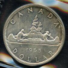 1965 Canada Silver Dollar - ICCS MS-63 - SB P5 - Cert# XVZ 968