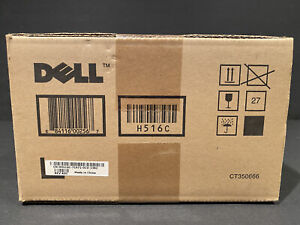 Genuine OEM Sealed Dell H516C Toner Cartridge Black 3130CN 9,000 Pages SEALED!