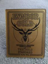 Golden Hill Brewery - EXMOOR GOLD - Beer Pump Clip