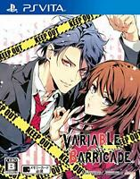 USED PS Vita VARIABLE BARRICADE Game Soft Japan import*