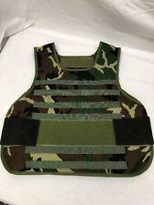 Lbt 6162B-L Woodland Survival Armor Carrier Large 10x12 Molle