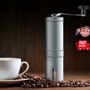 Manual Coffee Bean Grinder Adjustable Coarseness Ceramic Hand Held Grinding Mill