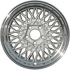 OEM 16X7 Alloy Wheel Mesh Medium Silver Sparkle Painted Face w/a Machined Flange