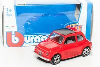 Fiat 500 in Red 1965, Bburago 18-30046, scale 1:43, toy gift model