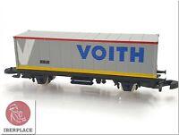 Z 1:220 Maßstab Märklin Mini-Club Waggon Güterwagen Auto Trains Voith Like Neu <