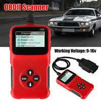 Scanner Diagnostic Code Reader New V309 Universal OBD2 OBDII Car Diagnostic Tool