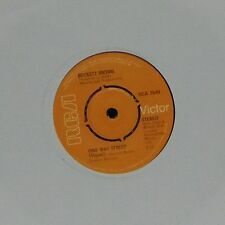 "Beckett marron ""One Way Street (vocal) 'UK 7"" SINGLE"