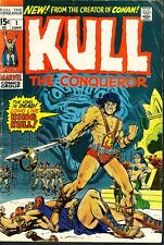 Kull 1,3,4,5 Conan-like Barbarian Marvel 1971 Conqueror