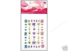 DISNEY Scrapbooking 3D Stickers *PRINCESS JEWELS* 53pcs