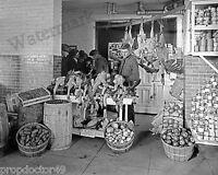 Photograph of a 1928 Park View Citizens Association (Butcher) Store  8x10