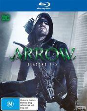 Arrow : Season 1-5 (Blu-ray, 2017, 20-Disc Set)