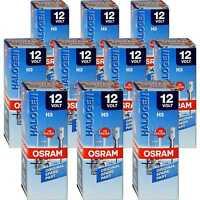 Set 10x Osram Original Line H3 Halogen 12V 55W Sockel PK22s Glühbirne