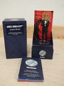 Corgi Icon James Bond 007 Sean Connery Figure - 1998 - Boxed (Sax]