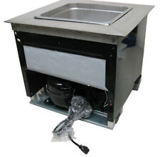 Drop-in Commercial Refrigeration Cold Well Chiller Insert for Coffee Counters