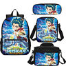 Anime Beyblade Combo Students Backpack Lunchbox Crossbody Bags Pen Case Kids Lot
