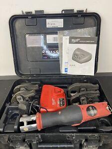⚡️Novopress Geberit Aco103 Mapress Kit 12V Battery Xpress Press Tool Crimp⚡️