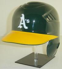 OAKLAND A's Rawlings New Style Coolflo Official Full Size Batting Helmet- Righty