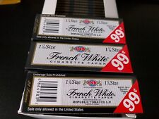 Job 1.25 French White  Rolling Papers 72 Packs/Full Box buy 10 get 1 free