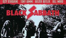 BLACK SABBATH 2002 PAST LIVES PROMO POSTER ORIGINAL