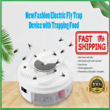 Electric Fly Trap Device With Trapping Food - USB Cable Insect Killer FR