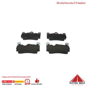 FERODO BRAKE PADS REAR For PORSCHE CAYENNE GTS 2008+ - 4.8L V8 - FDB1627