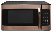 New Hamilton Beach 1.1 Cu. Ft. Microwave Oven Copper Rose Gold Office Dorm Room