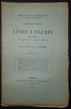 Catalogue de livres à figures, albums, caricatures, costumes militaires / 1890