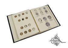 Egypt 1954-1958 Coin Album 1955 1956 1957 Sphinx Piastres Milliemes