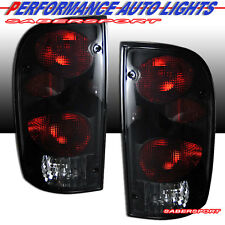 1995-2000 TOYOTA TACOMA ALTEZZA STYLE TAIL LIGHTS BLACK SMOKE PAIR