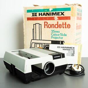 Hanimex Rondette 1500 RF 35mm Slide Projector Tested Working