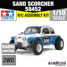 58452 Tamiya Sand Scorcher 1/10th R/C KIT RC auto 1/10 NUOVO IN SCATOLA!