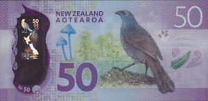 NEW ZEALAND 50 DOLLARS 2016 P-194 UNC