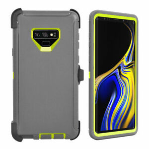 For Samsung Galaxy Note 9 Case Cover (Belt Clip Holster Fits Otterbox Defender)