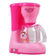 Educational Emulational Coffee Machine Children Kids Pretend Play Toy Gift Set