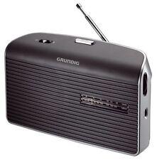 Grundig Music 60 Radio UKW MW Batterie-/Netzbetrieb Grau