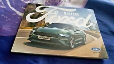 FORD Mustang 2016 UK SALES BROCHURE 60 PGS