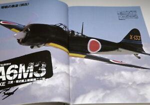The visual encyclopedia of Mitsubishi A6M Zero Fighter book Japan Japanese(0969)