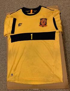 Spain Soccer Iker Casillas Euro 2008 Jersey Goalie