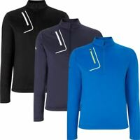 CALLAWAY GOLF OPTI-THERM 1/4 ZIP FLEECE SWEATER GOLF THERMAL PULLOVER 50% OFF