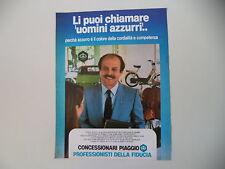 advertising Pubblicità 1981 PIAGGIO VESPA CIAO APE