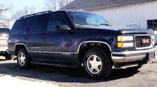 """1992-1999 Chevy Tahoe & GMC Yukon 4 Door 2"""" wide Stainless Steel Fender Trim"""